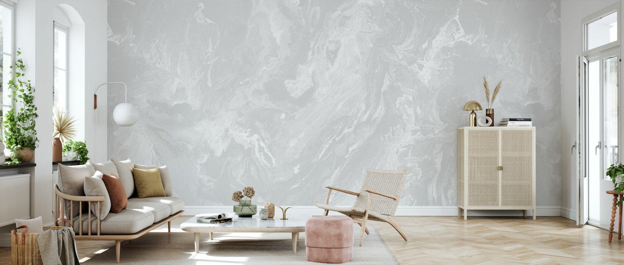 Brume - Silver Dust - Wallpaper - Living Room