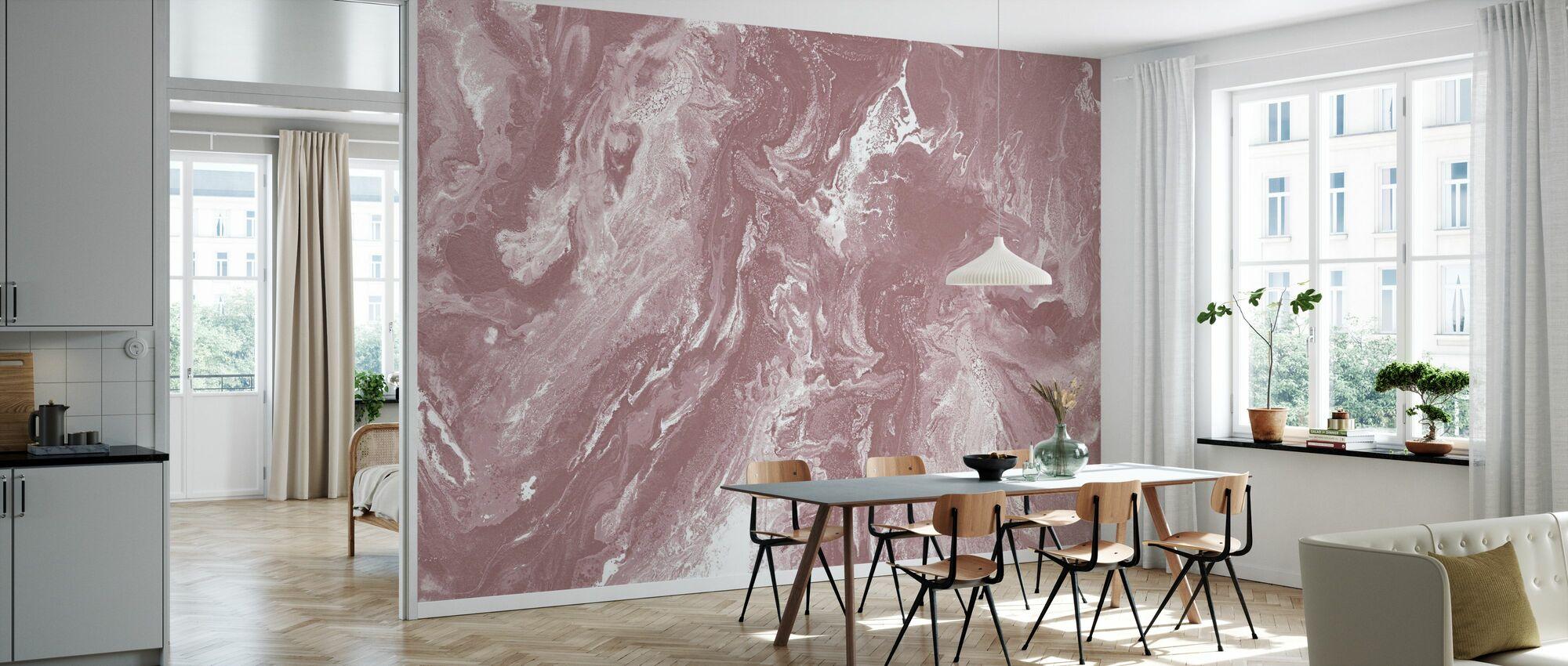 Brume - Old Blush - Wallpaper - Kitchen