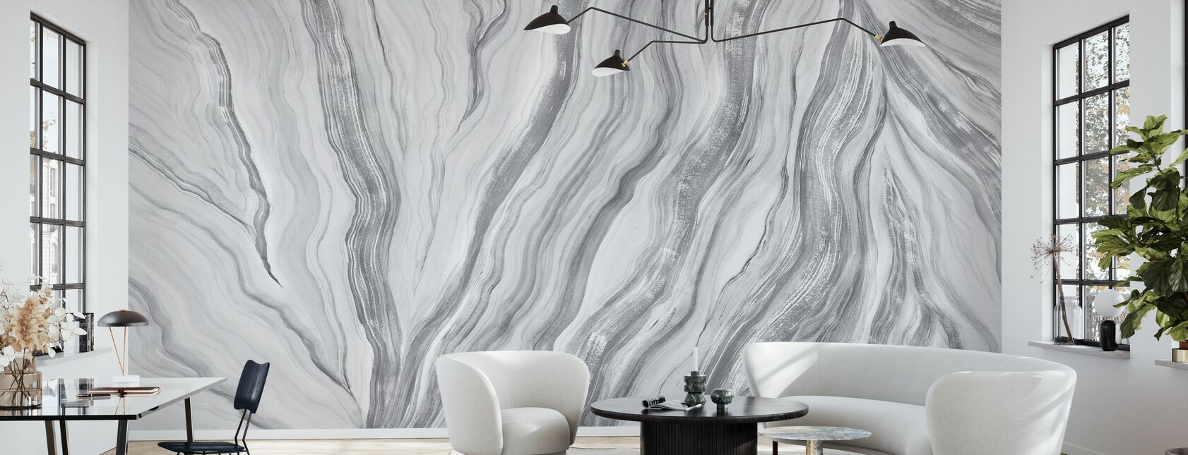 Unearth - Granite - Wallpaper - Living Room