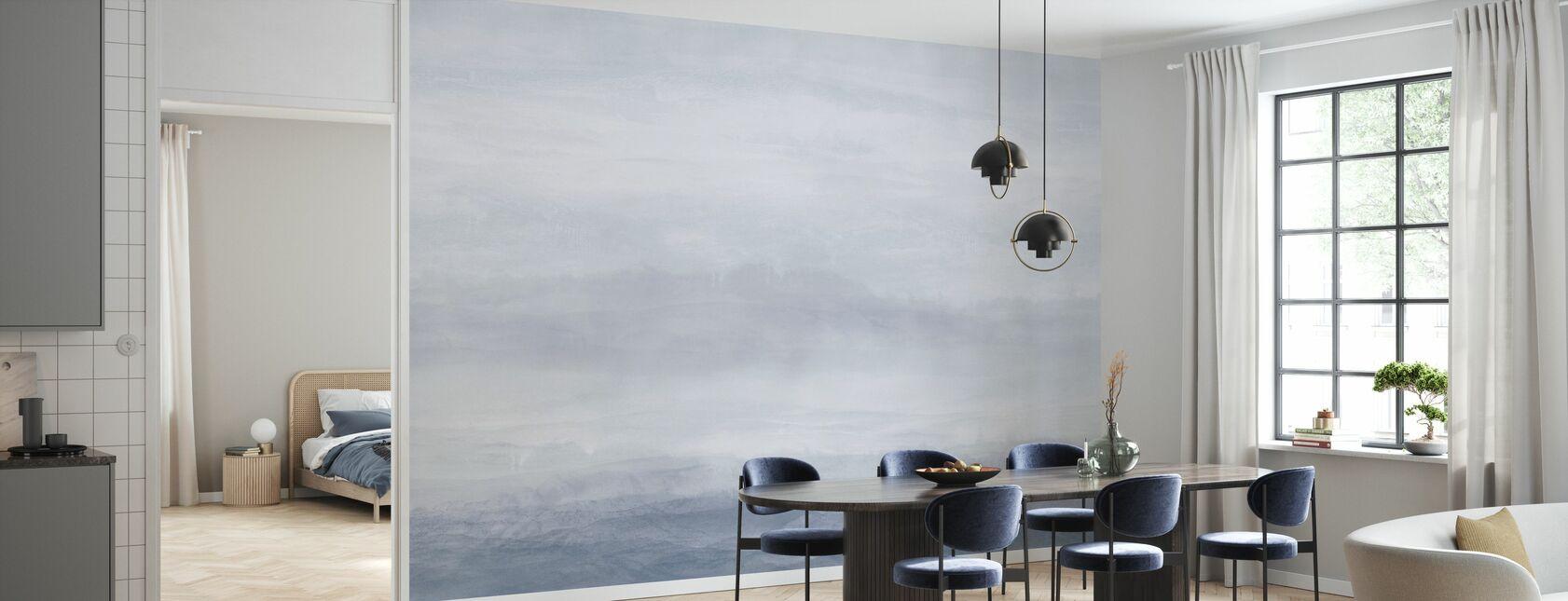 Vista - Soft Steel - Wallpaper - Kitchen