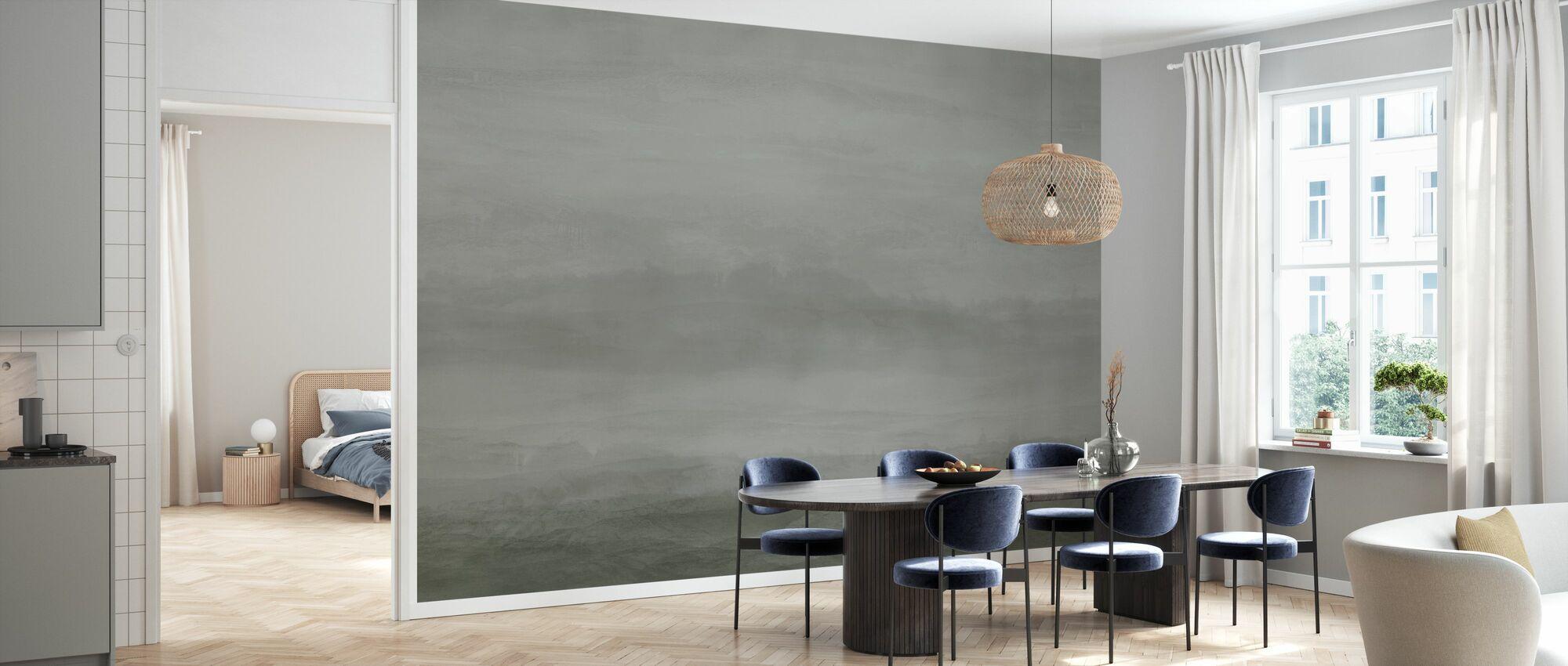 Vista - Nikkel Groen - Behang - Keuken