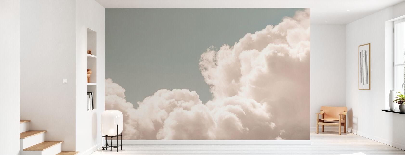 Blush moln dagdröm - Tapet - Hall