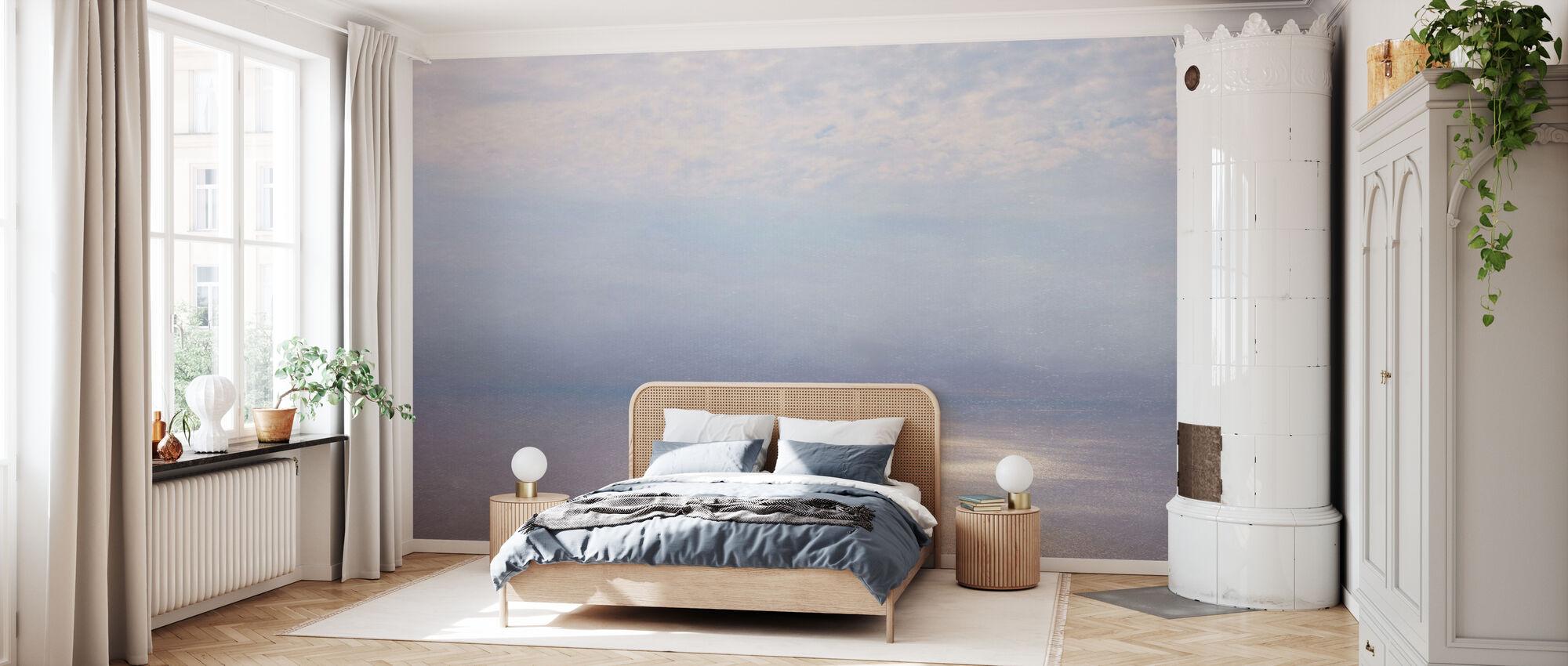 Rook Horizon Zilver Filter - Behang - Slaapkamer