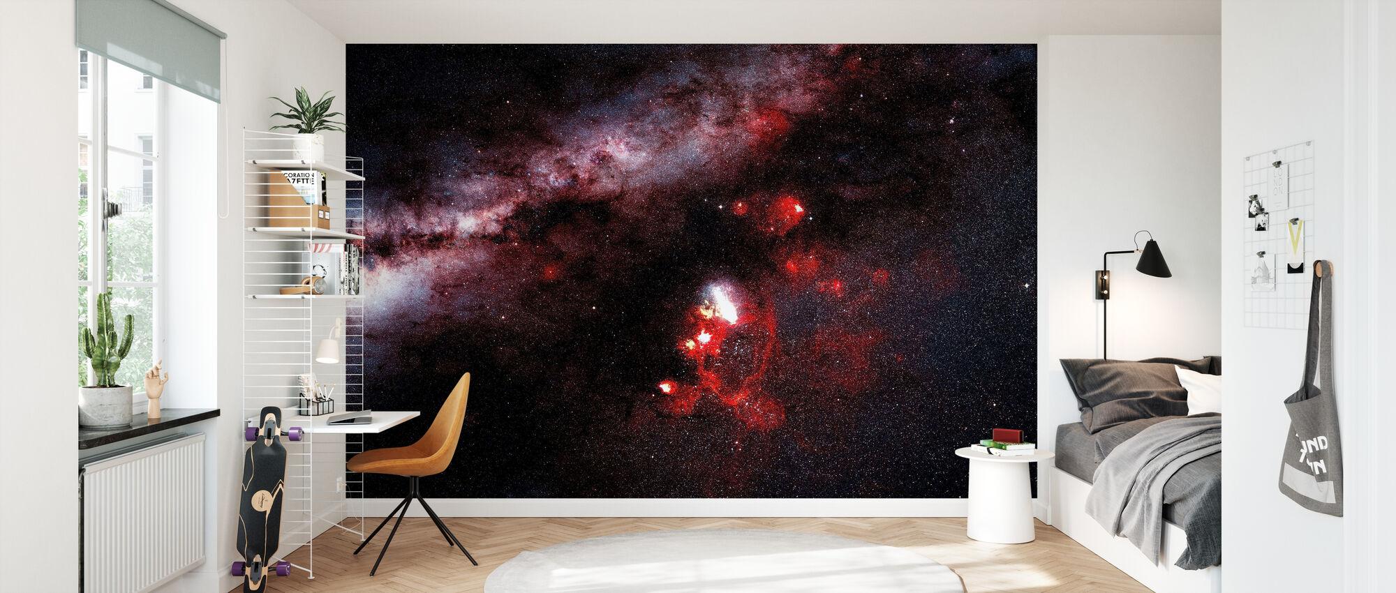 Darkness in the Galaxy - Wallpaper - Kids Room