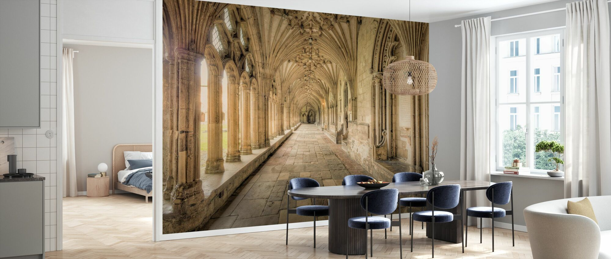 Cathedral Corridors - Wallpaper - Kitchen