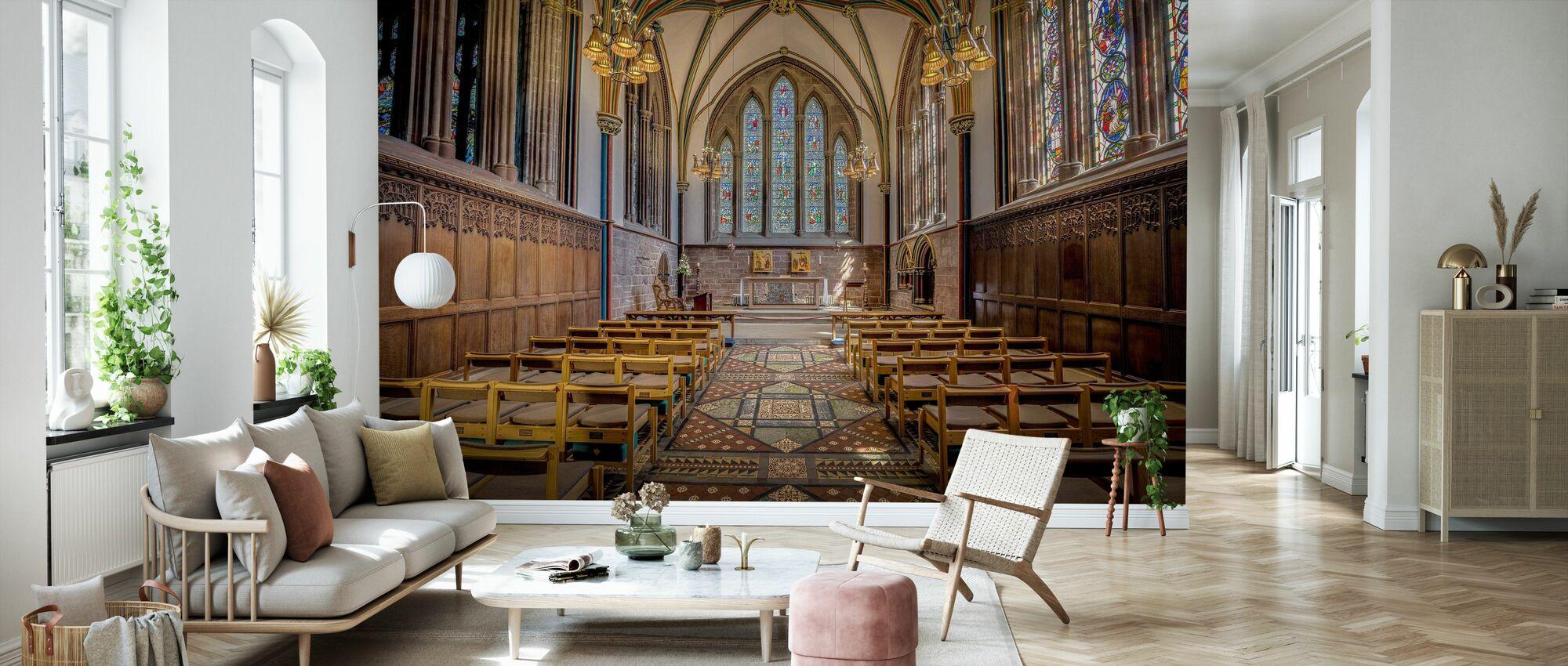 Lady Chapel - Wallpaper - Living Room