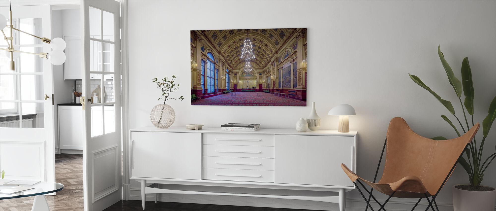 Glasgow Hall - Canvas print - Woonkamer