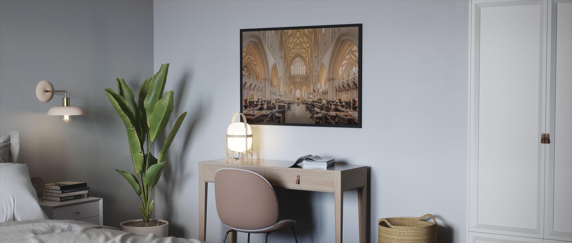 Choir Church Room - Poster - Bedroom