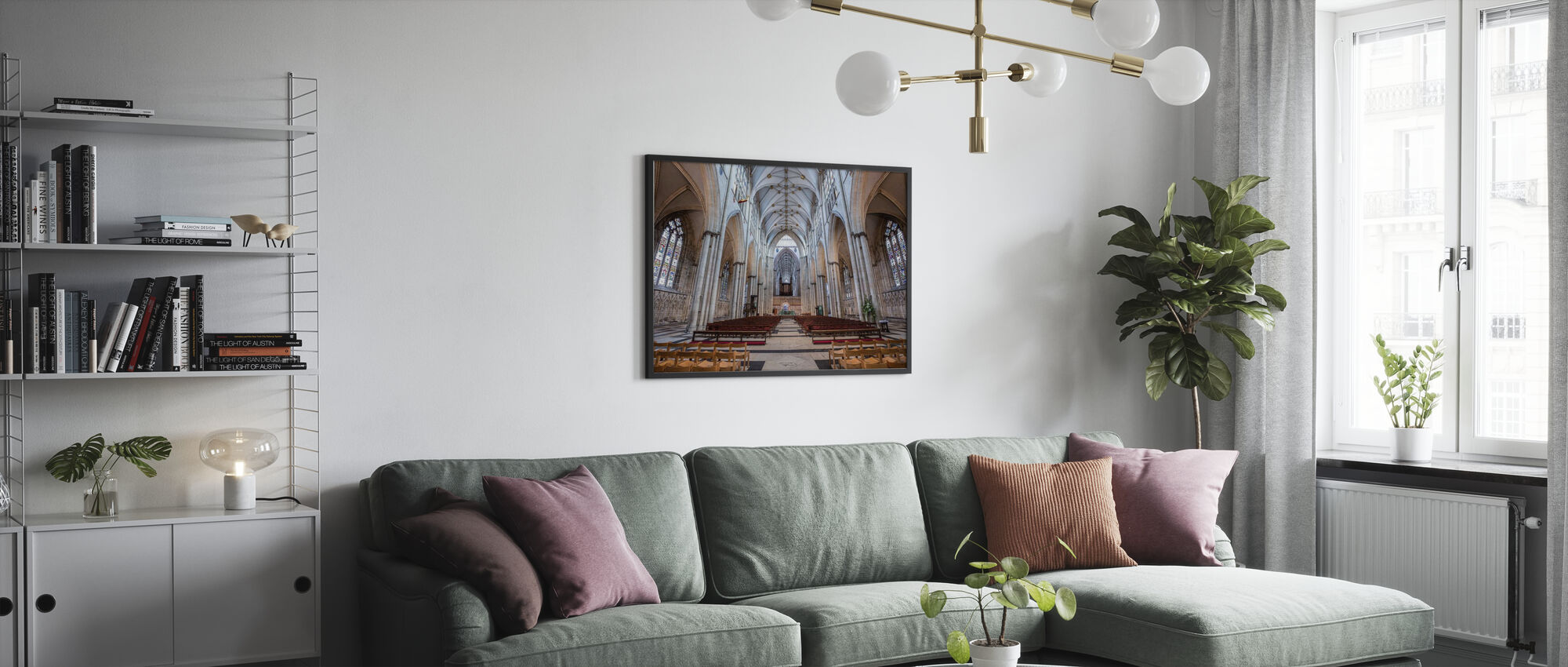 York Cathedral - Poster - Living Room