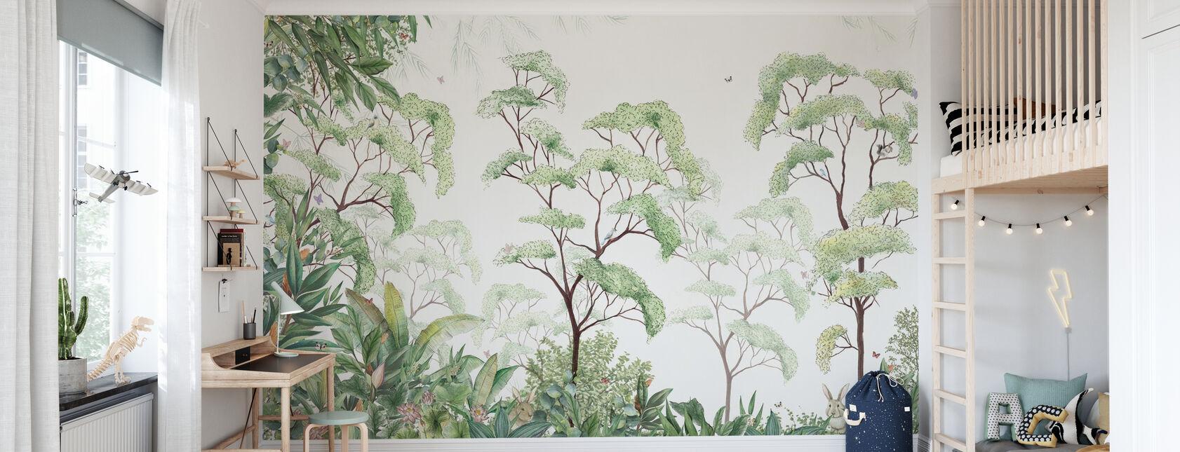 Bosque - Papel pintado - Cuarto de niños
