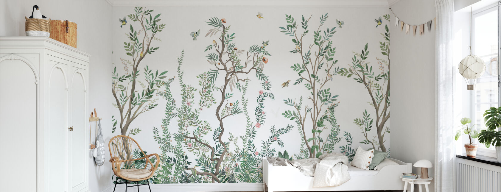 Woodlands - Wallpaper - Kids Room