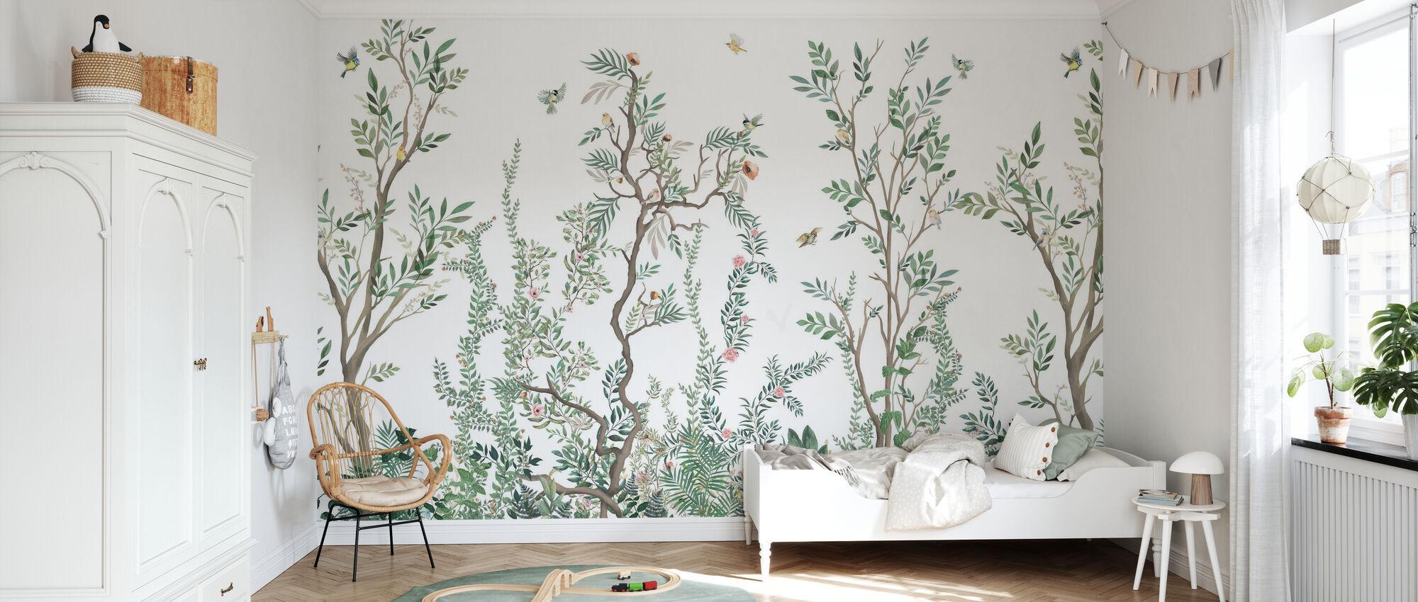 Terres boisées - Papier peint - Chambre des enfants