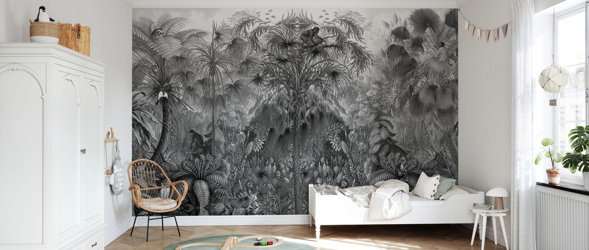 Monkey See Monkey - Wallpaper - Kids Room