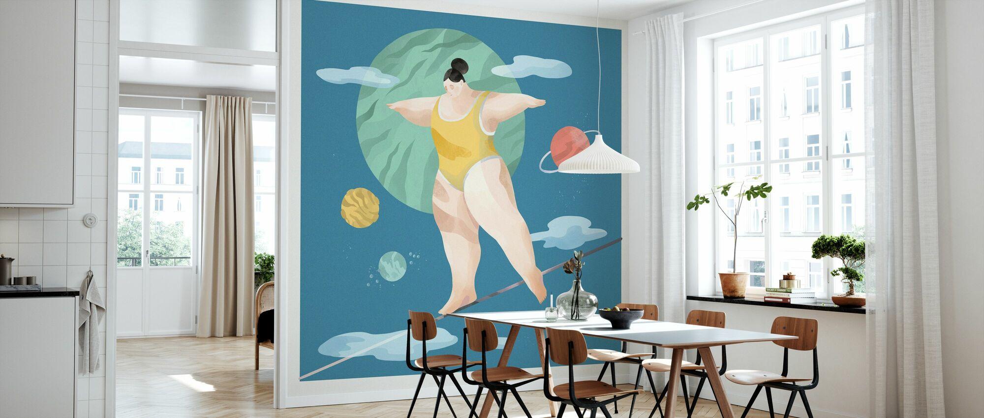 Space Ballerina - Tapete - Küchen