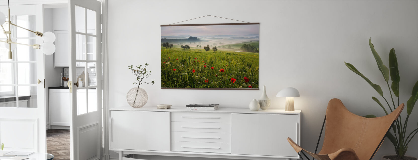 Tuscan Spring - Poster - Living Room