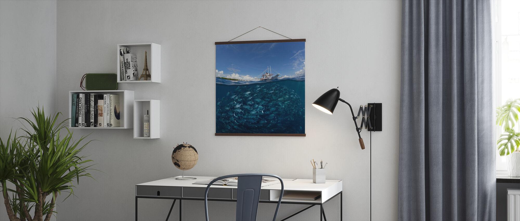 Ga duiken - Poster - Kantoor