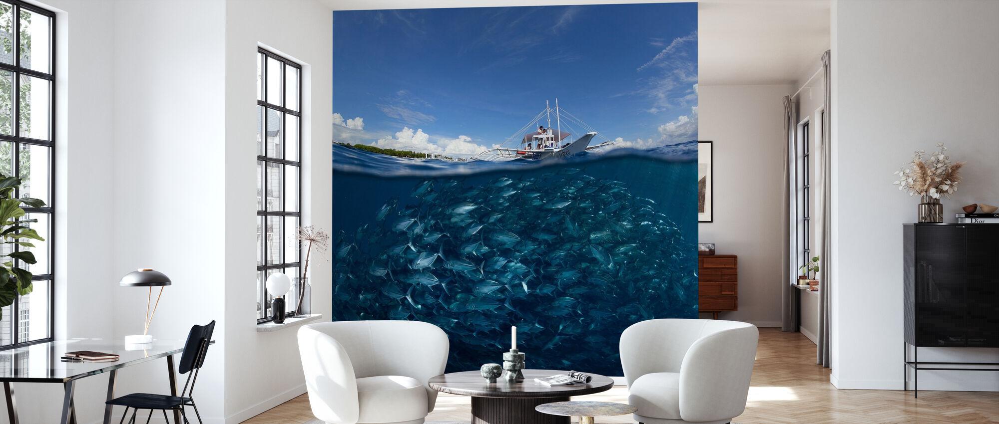 Go Diving - Wallpaper - Living Room