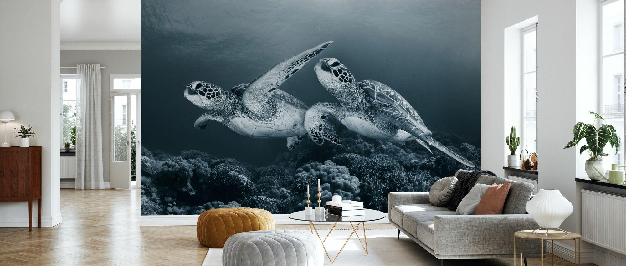 Twin Dance - Wallpaper - Living Room