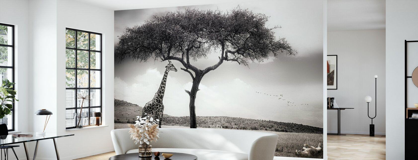 Under den afrikanske solen - Tapet - Stue