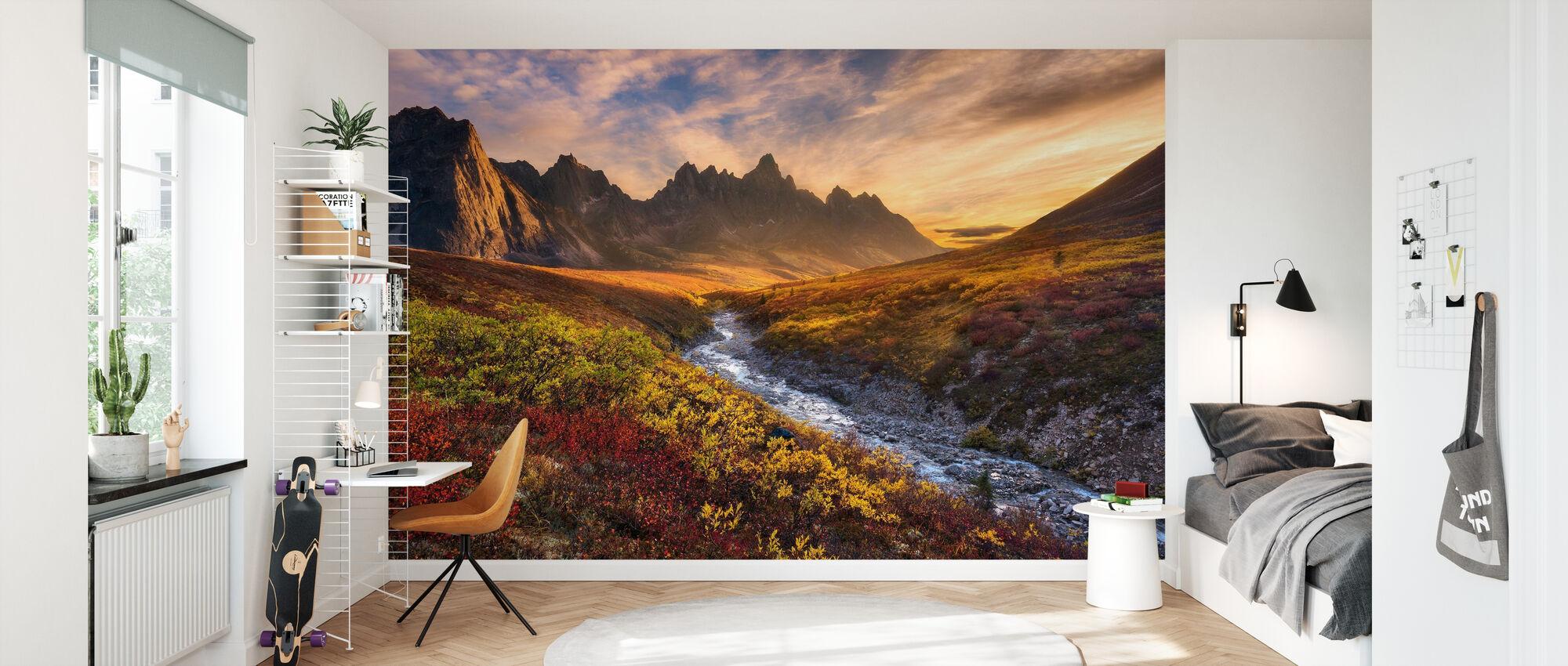 Mountain Paradise - Wallpaper - Kids Room
