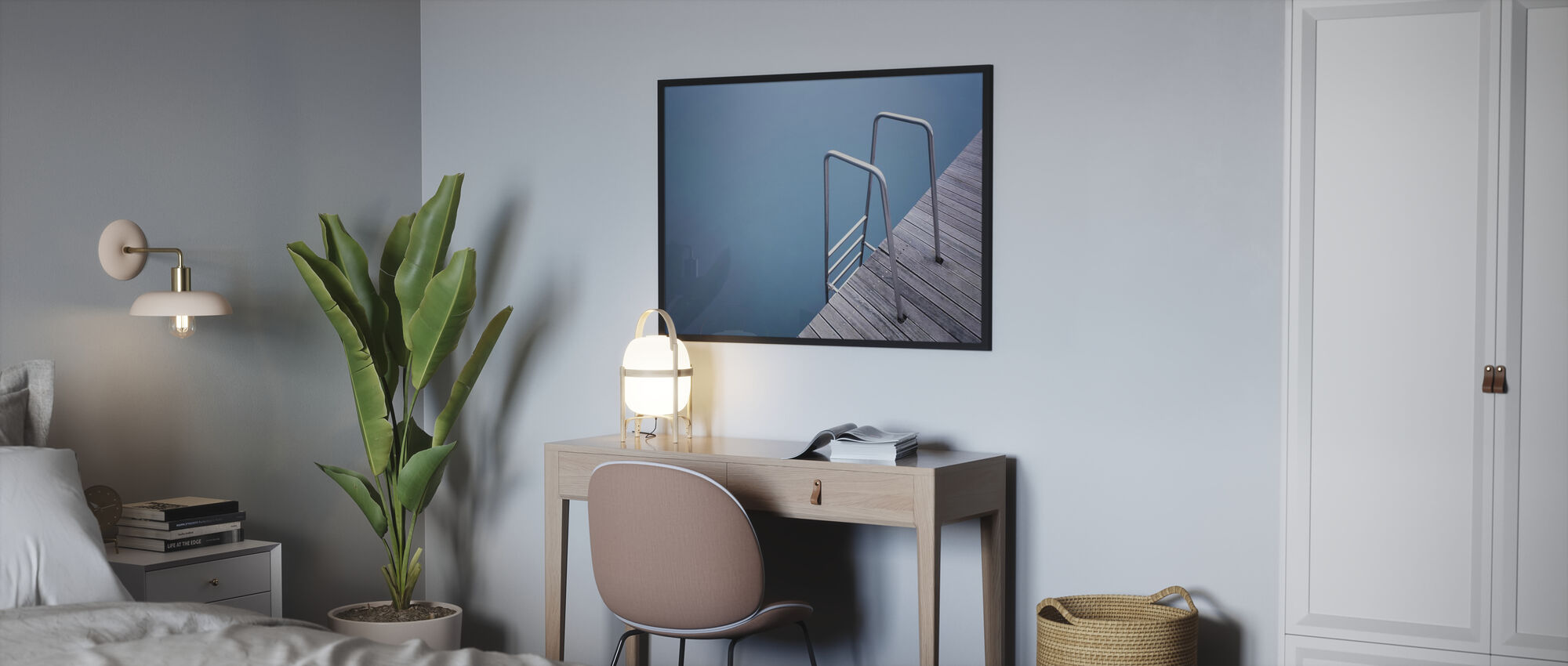 Stairs - Poster - Bedroom