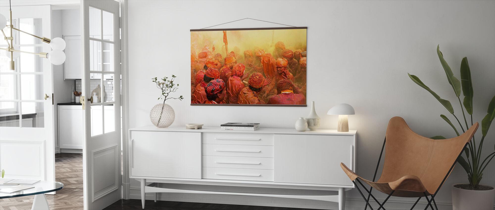 Lathmar Holi - Poster - Living Room