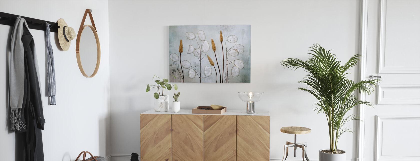 Lunaria - Leinwandbild - Flur