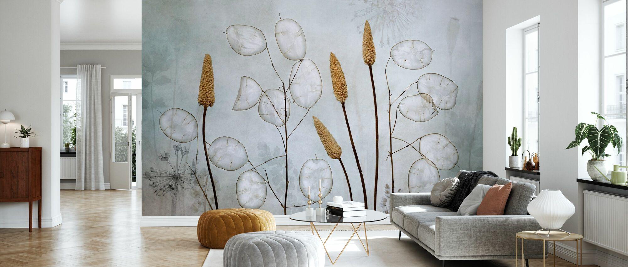 Lunaria - Wallpaper - Living Room