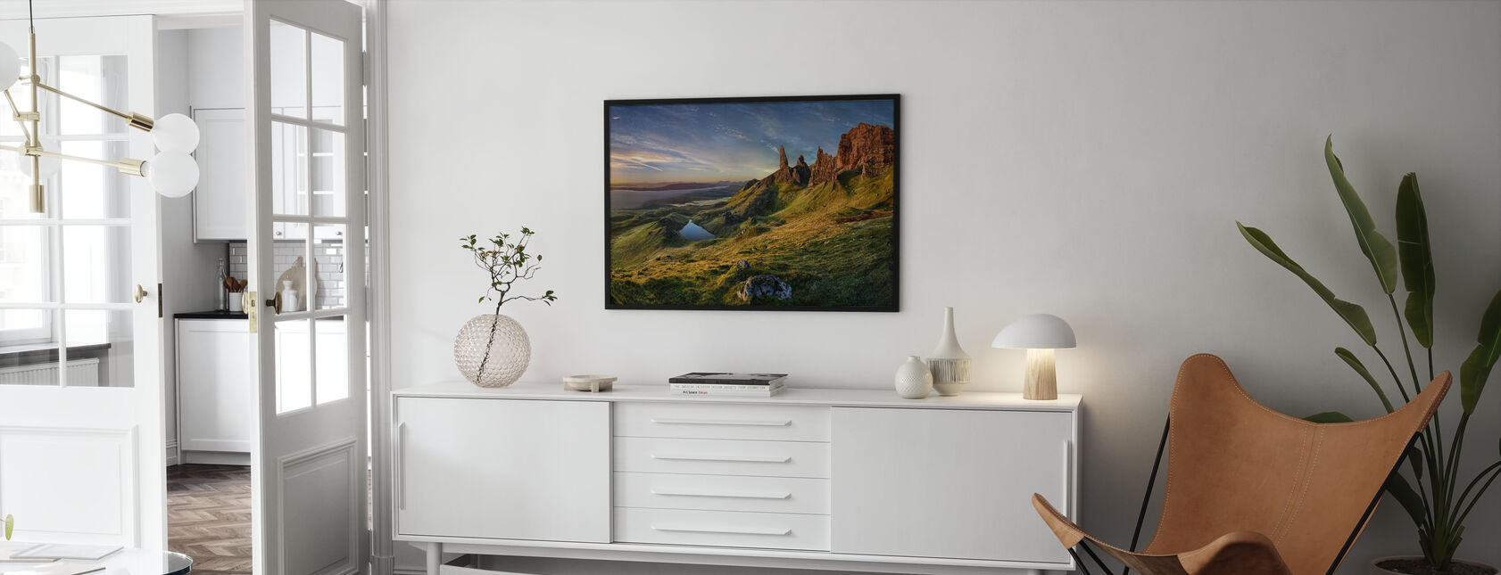 The Old Man of Storr - Framed print - Living Room