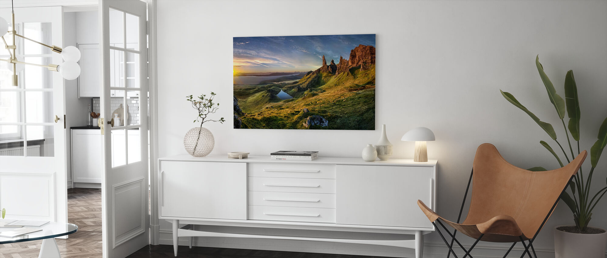 The Old Man of Storr - Canvas print - Living Room