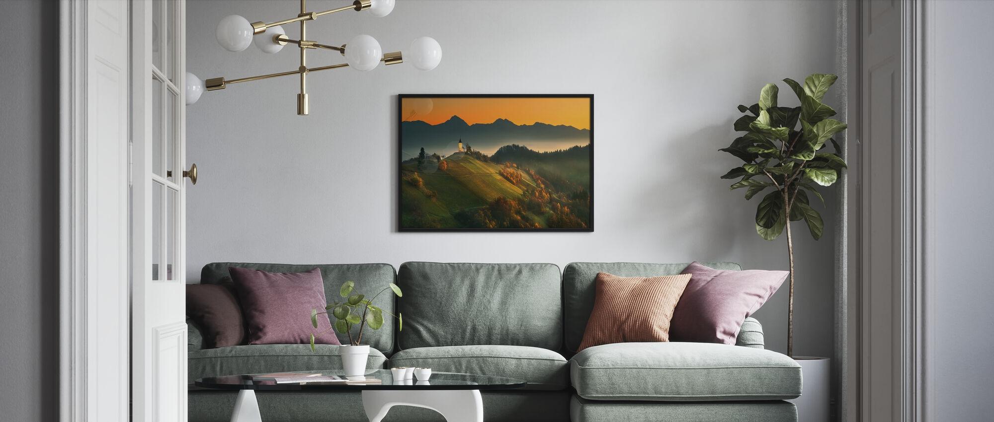 Slovenian Autumn - Poster - Living Room