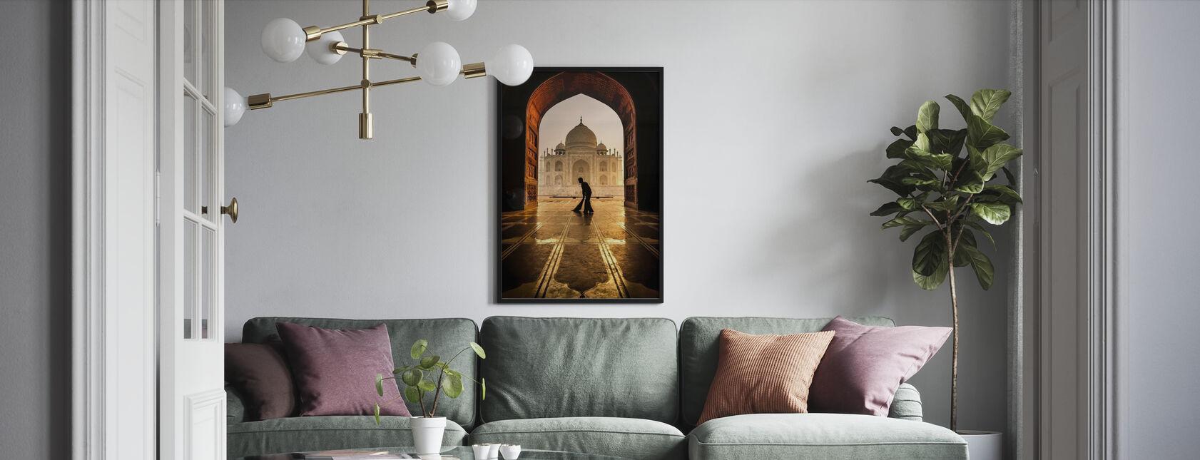 Taj Mahal Reiniger - Poster - Wohnzimmer