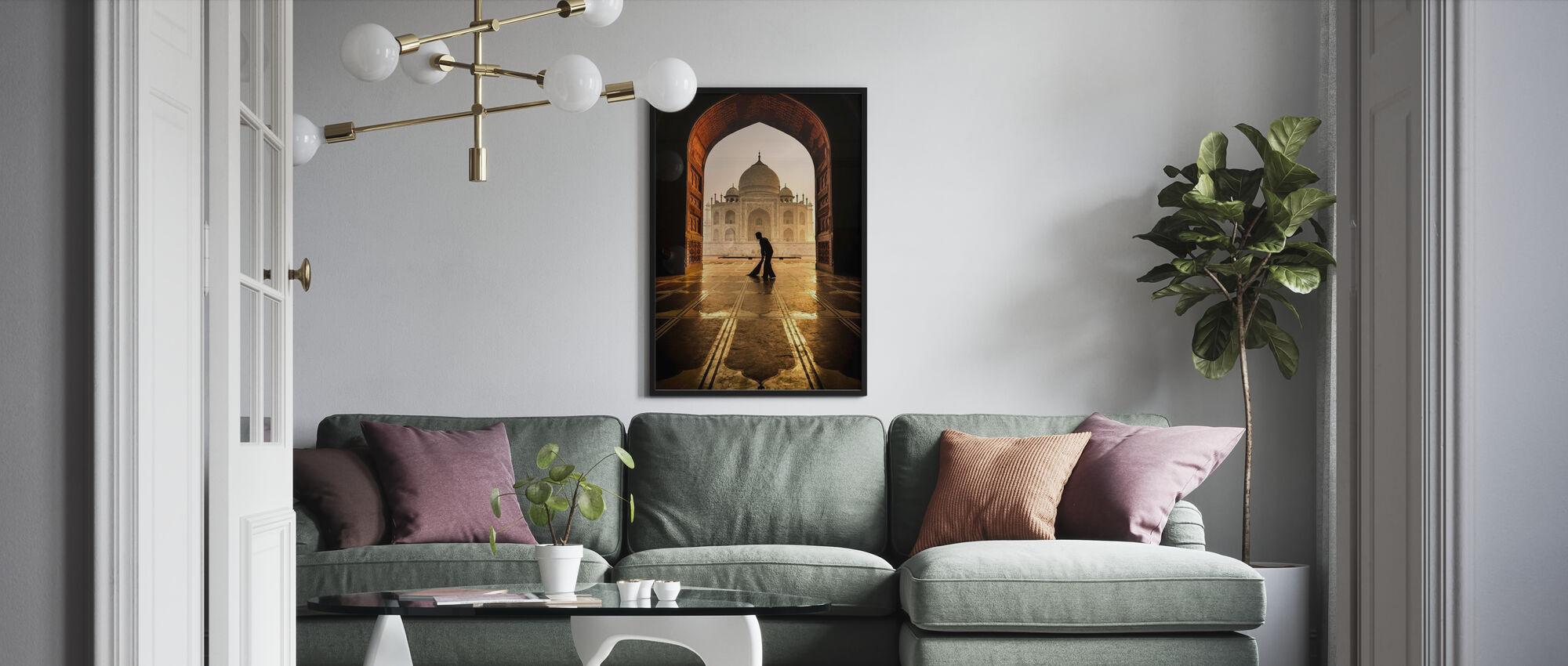 Taj Mahal Cleaner - Poster - Living Room