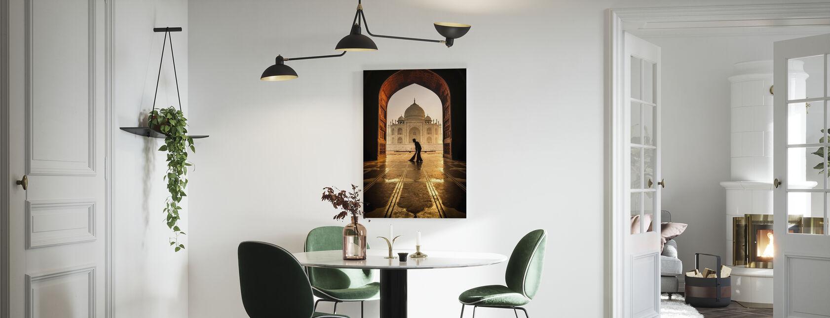 Taj Mahal renere - Lerretsbilde - Kjøkken