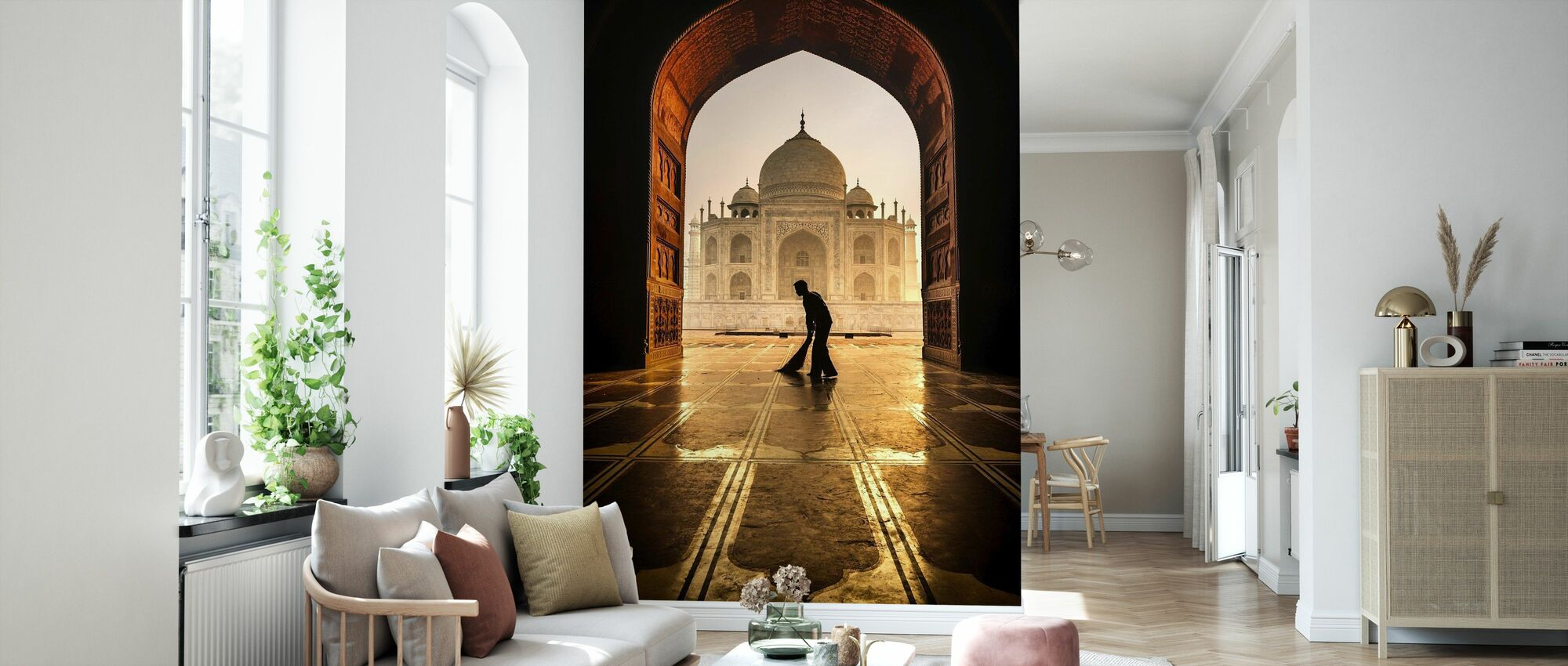 Taj Mahal Reiniger - Tapete - Wohnzimmer
