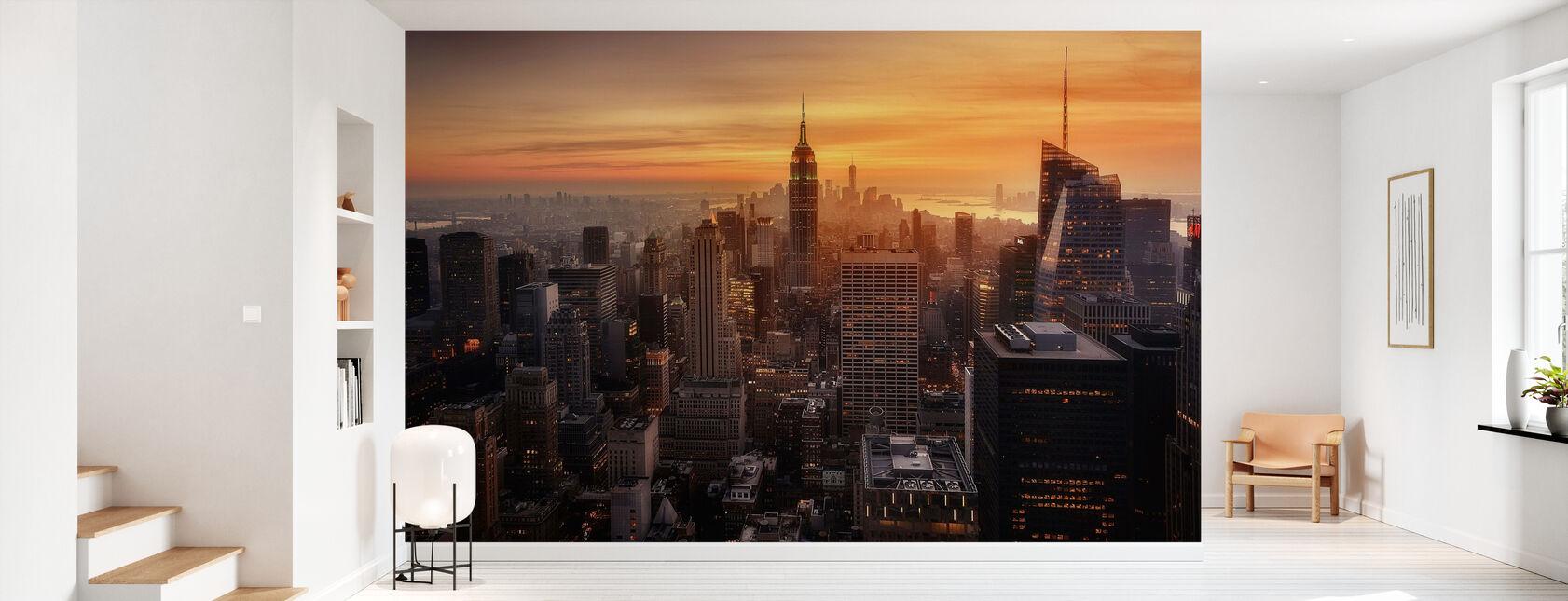 Manhattans lys - Tapet - Gang