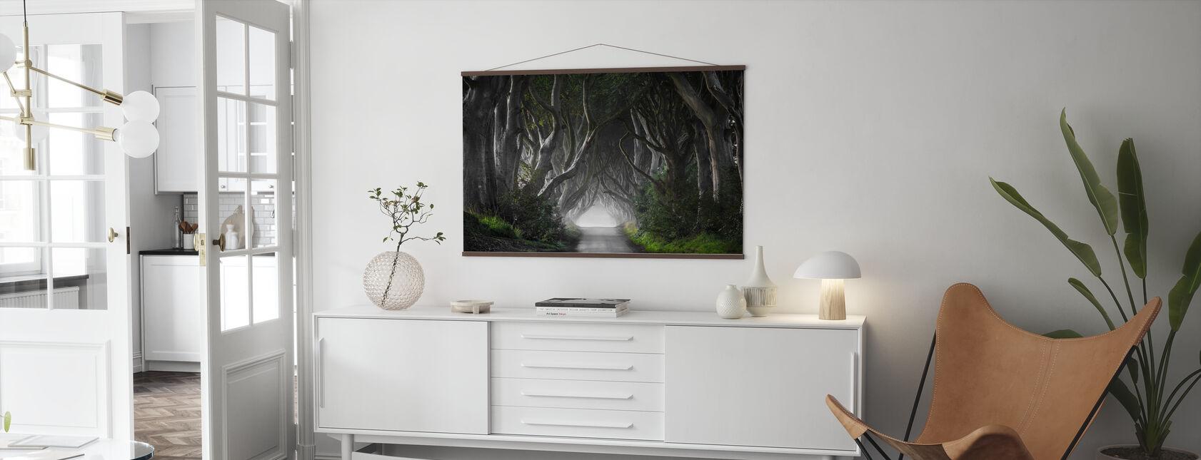 Dark Hedges - Poster - Living Room