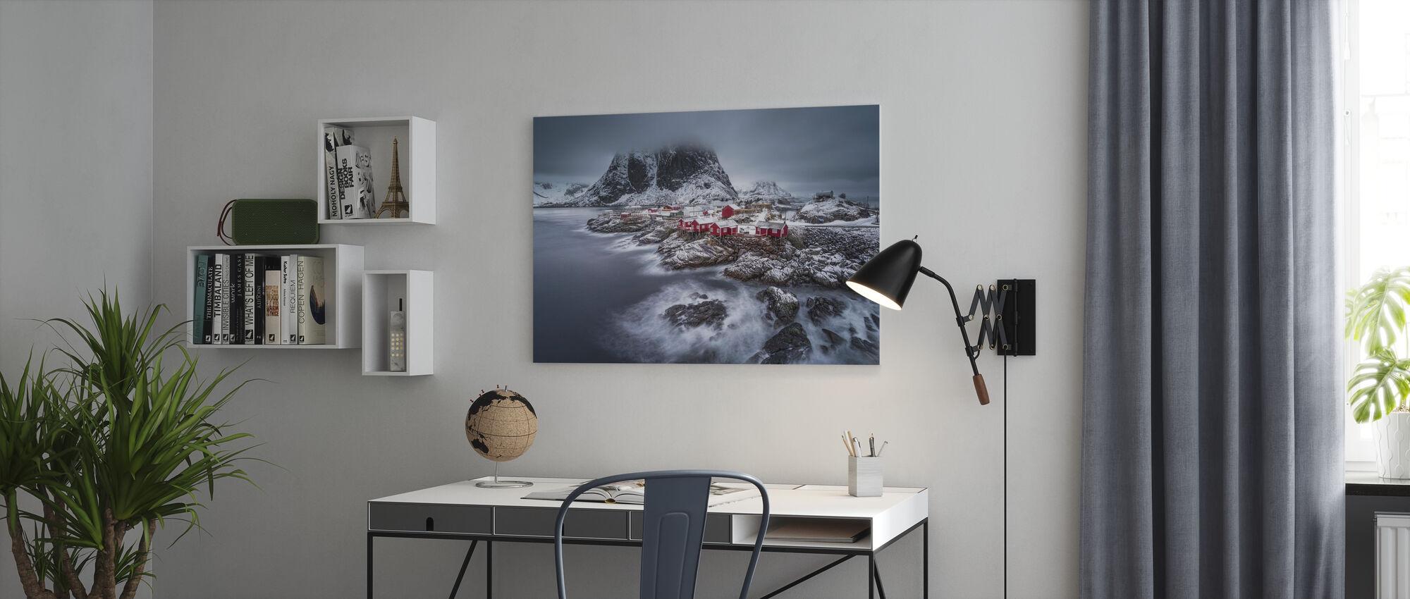 Winter Lofoten Islands - Canvastavla - Kontor