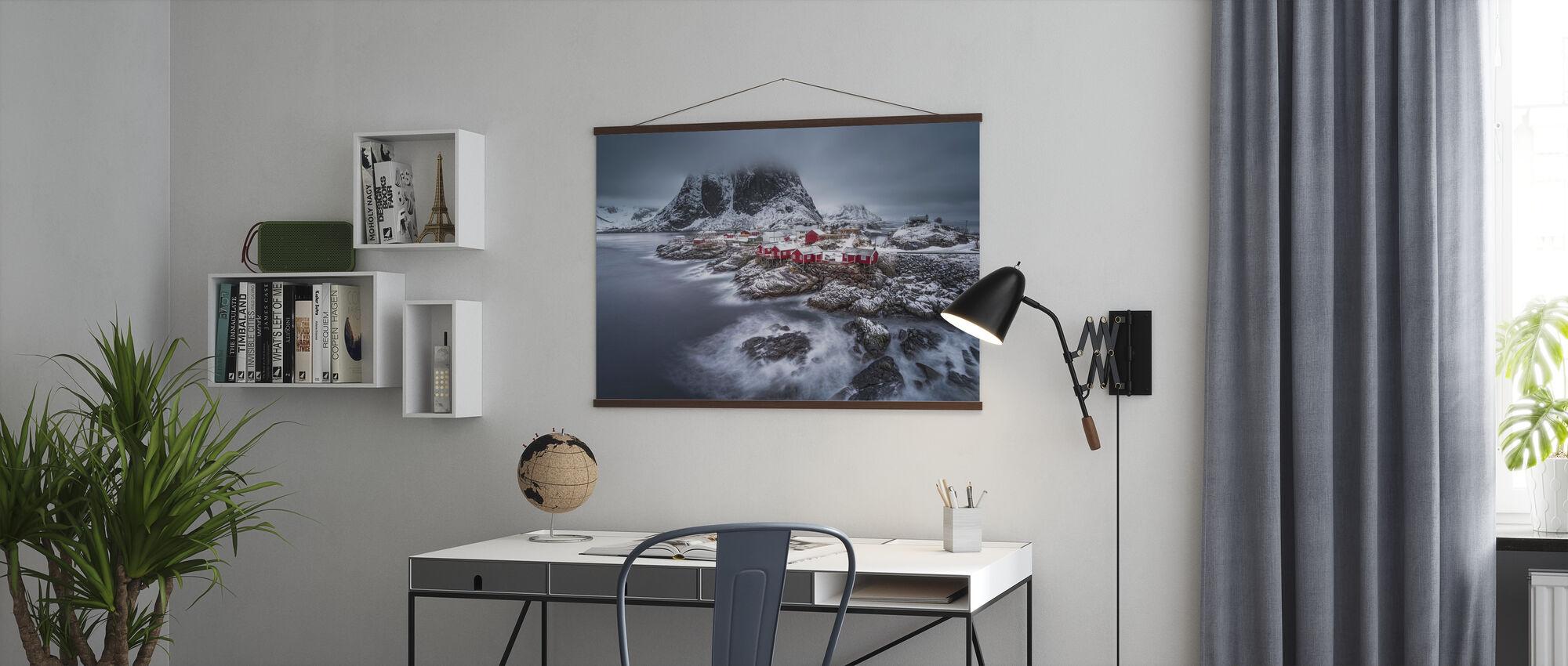 Winter Lofoten Islands - Poster - Büro