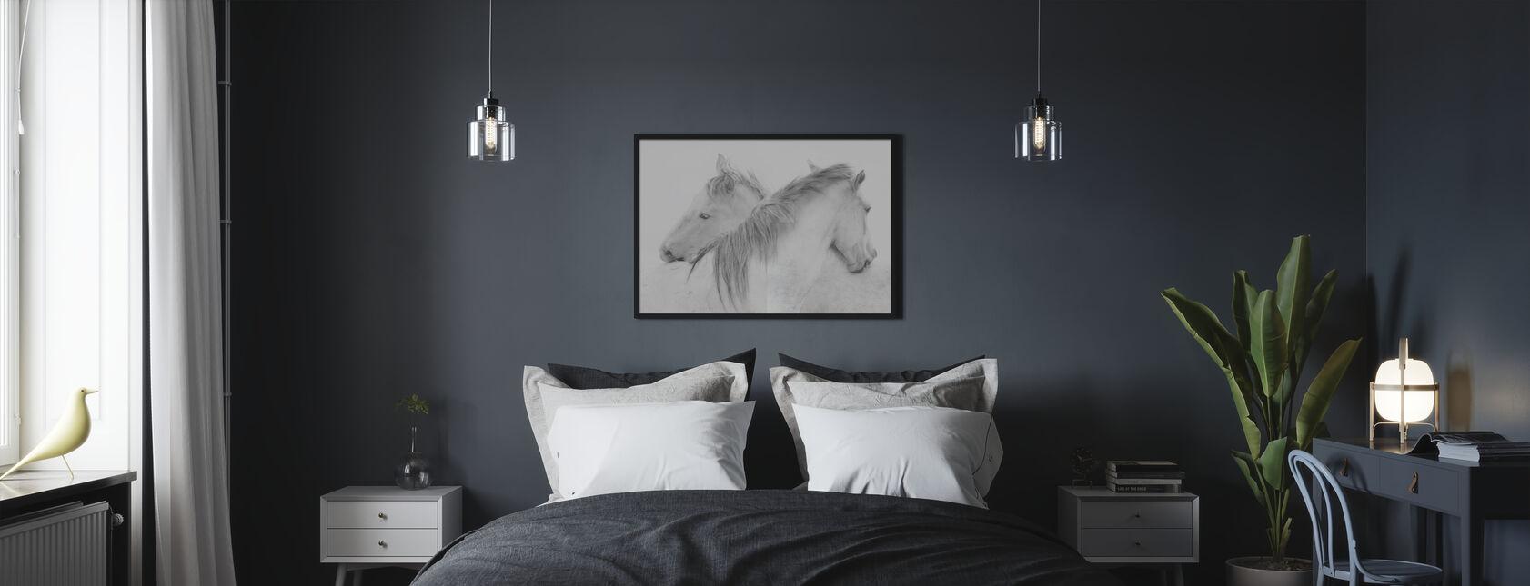 Heste - Plakat - Soveværelse