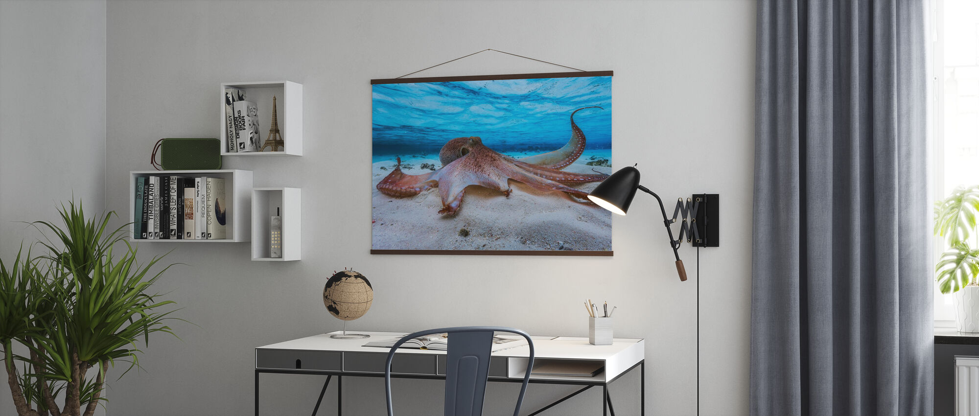 Blekksprut - Plakat - Kontor