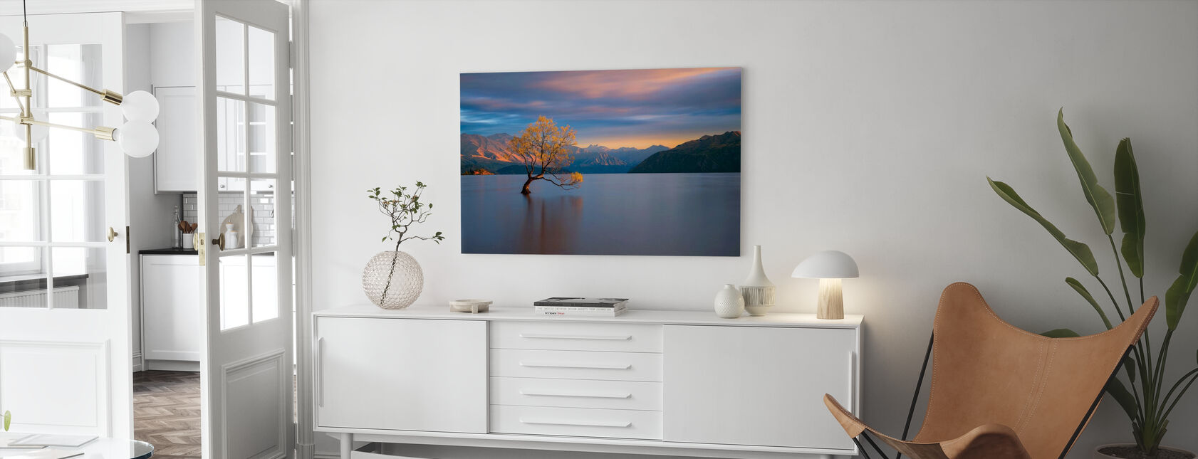 Morgenglühen - Leinwandbild - Wohnzimmer
