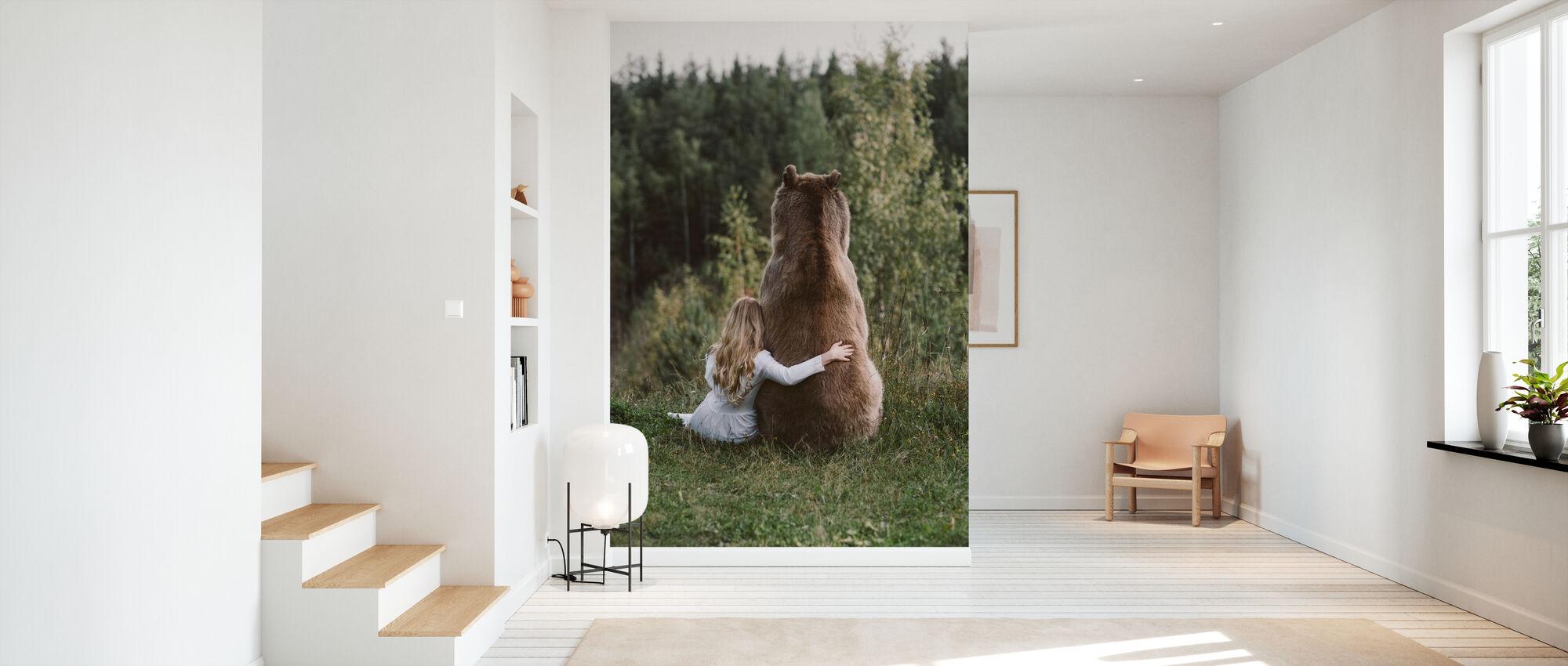 Bear Hug - Wallpaper - Hallway