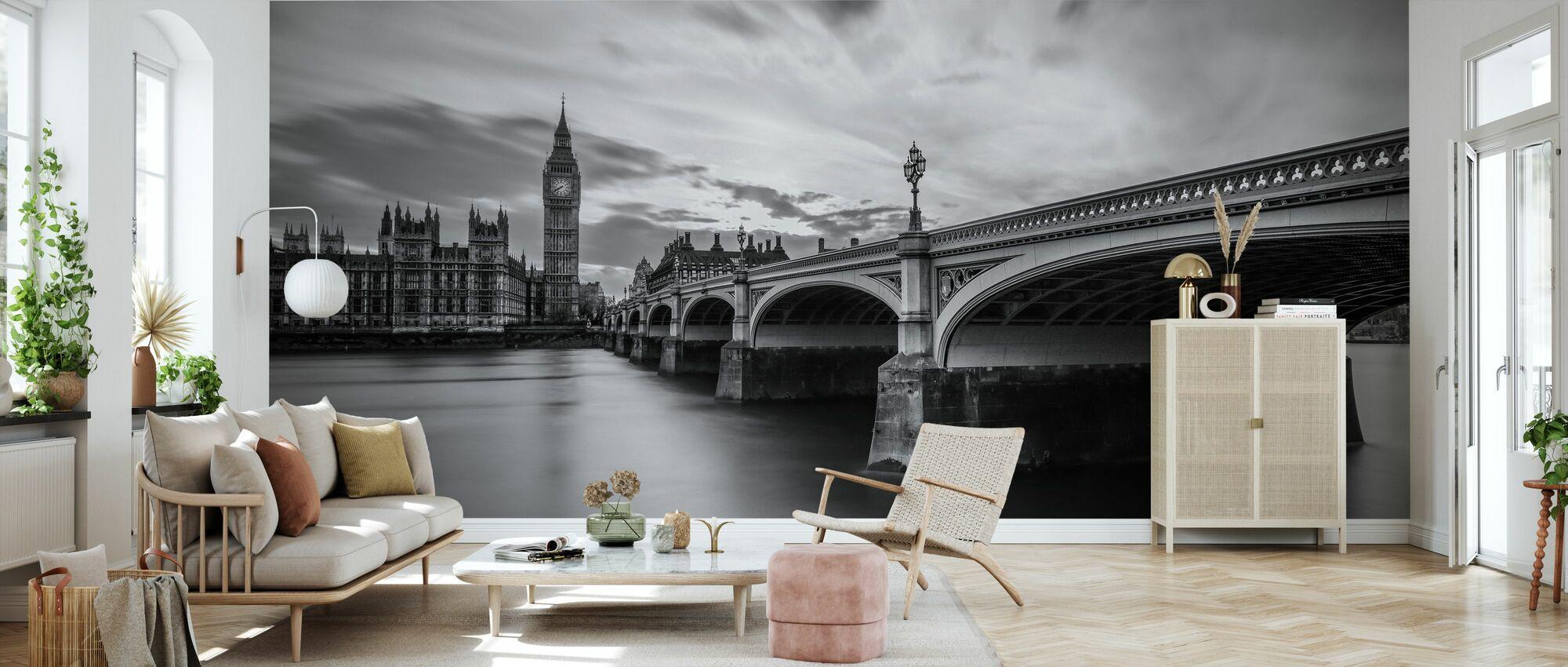 Westminster Serenity - Wallpaper - Living Room