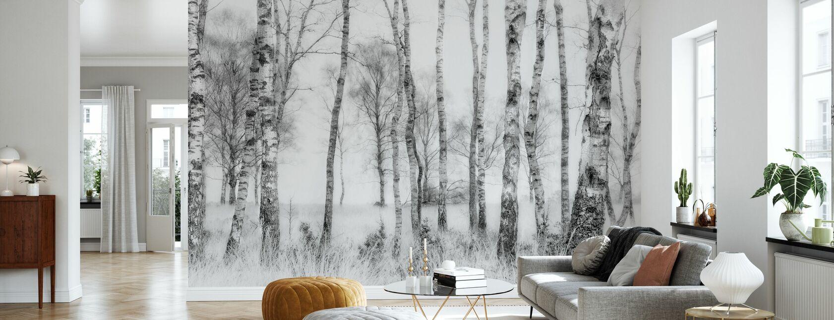 Zwart en Wit - Behang - Woonkamer