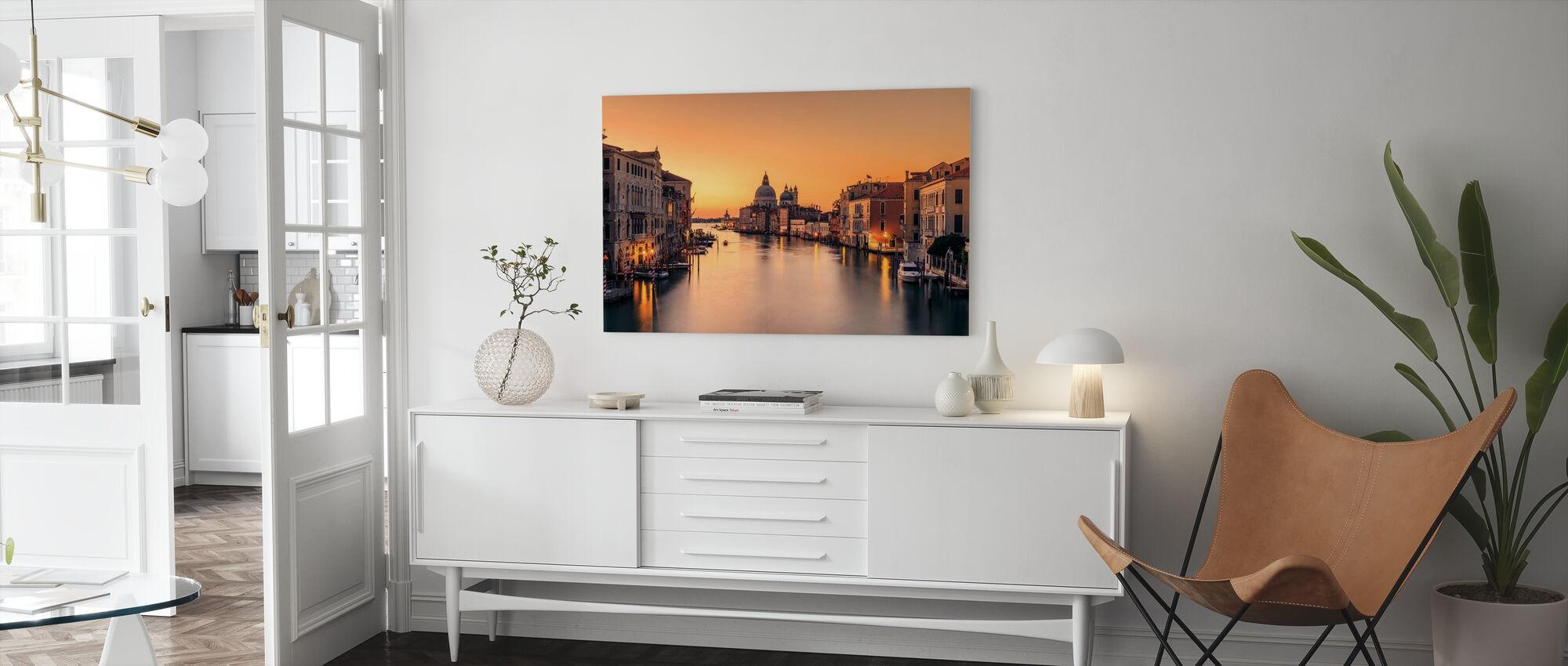 Dawn on Venice - Canvas print - Living Room