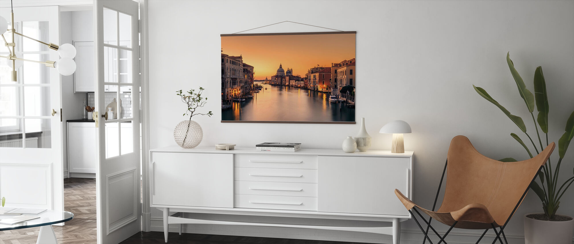 Dawn on Venice - Poster - Living Room