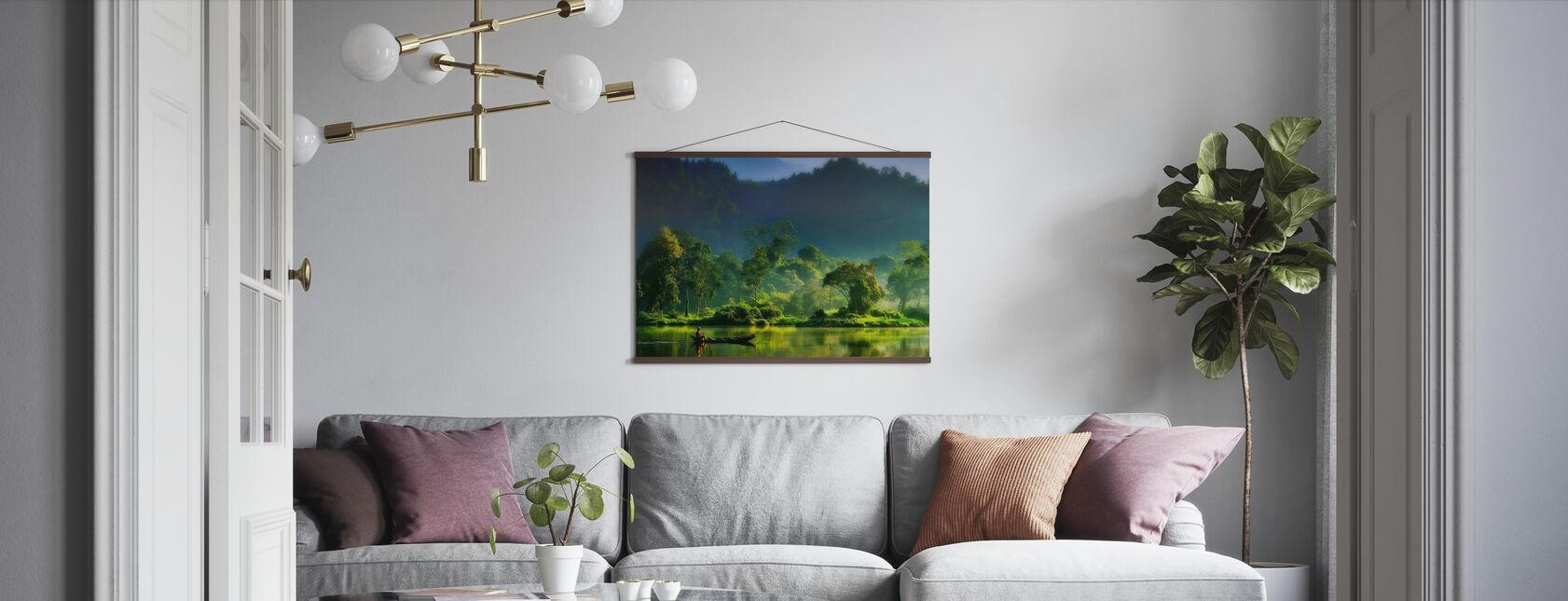 Maleri af naturen - Plakat - Stue