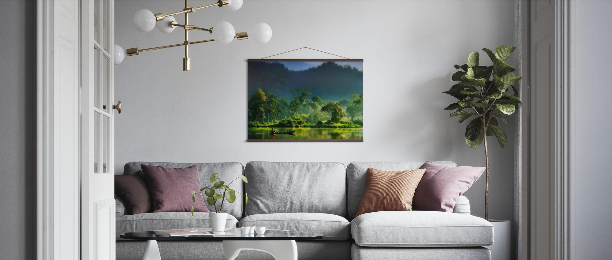 Malerei der Natur - Poster - Wohnzimmer