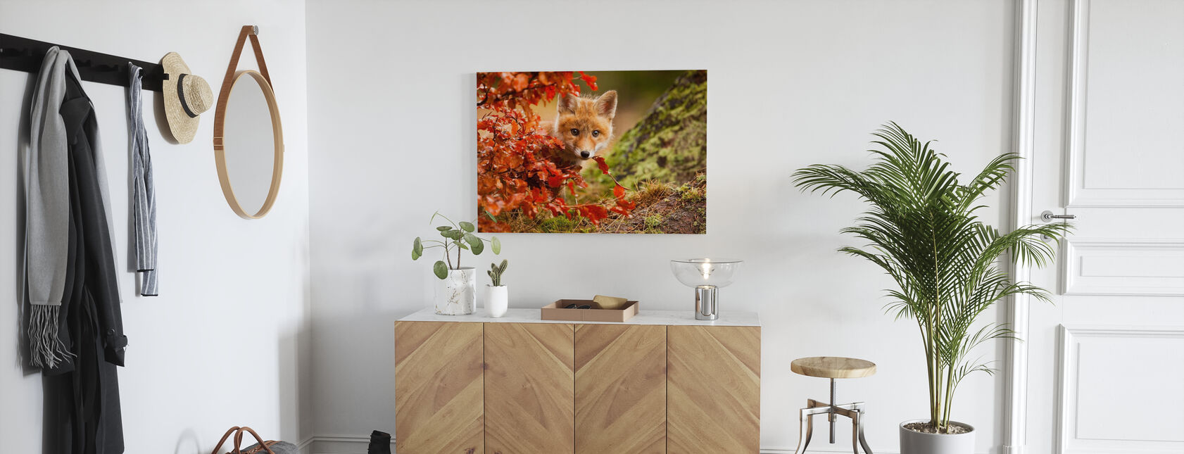 Fox - Canvas print - Hallway